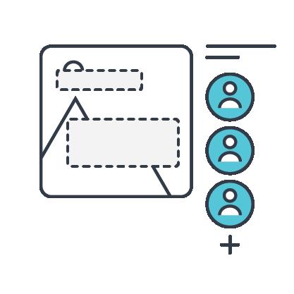 Collaborate icon Desygner