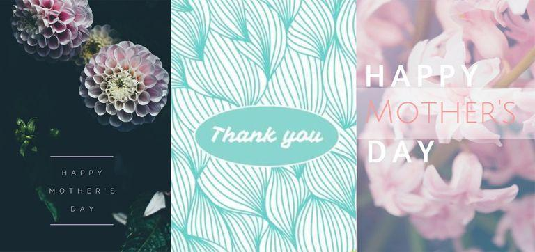 Mothers Day Card Template