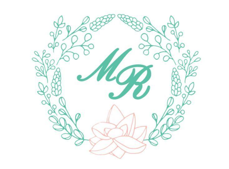 Monogram Wedding Example