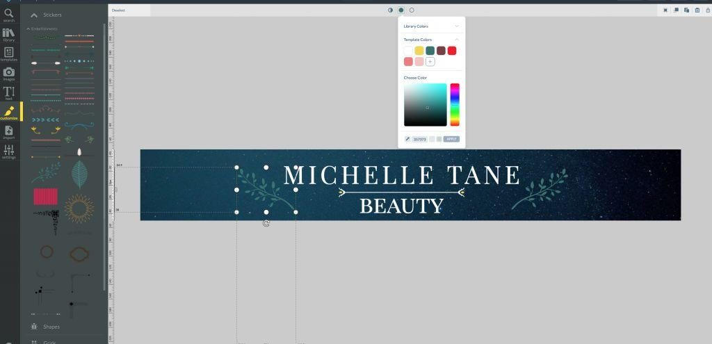 How to create etsy banner