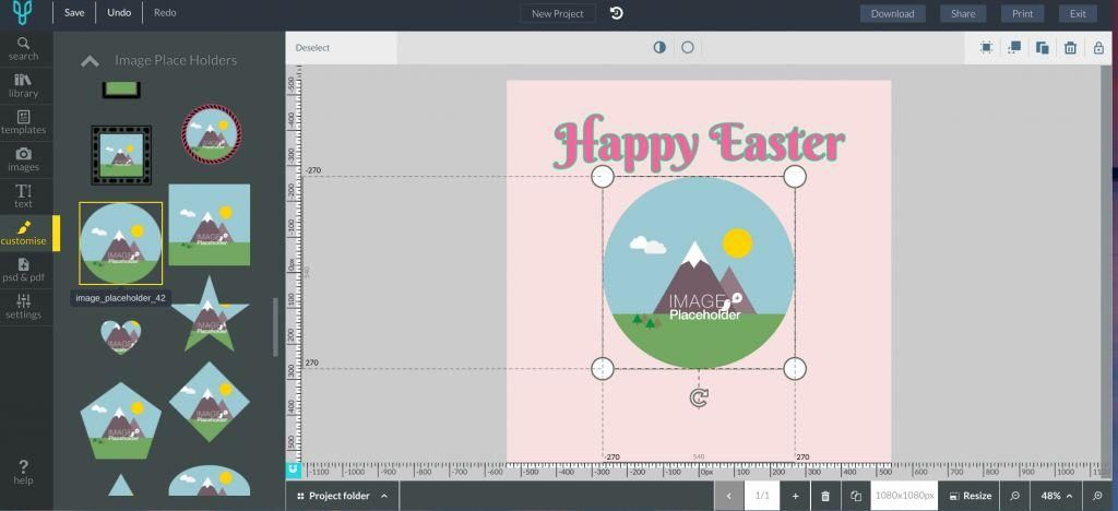 Easter Images Template