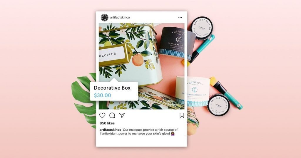 Instagram Shop features