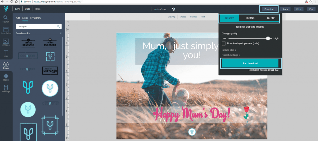 Mothers day how to design
