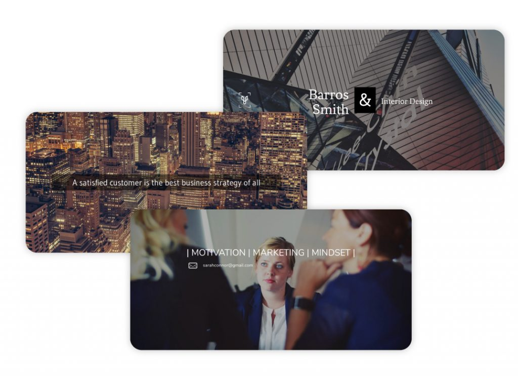 Linkedin Cover templates