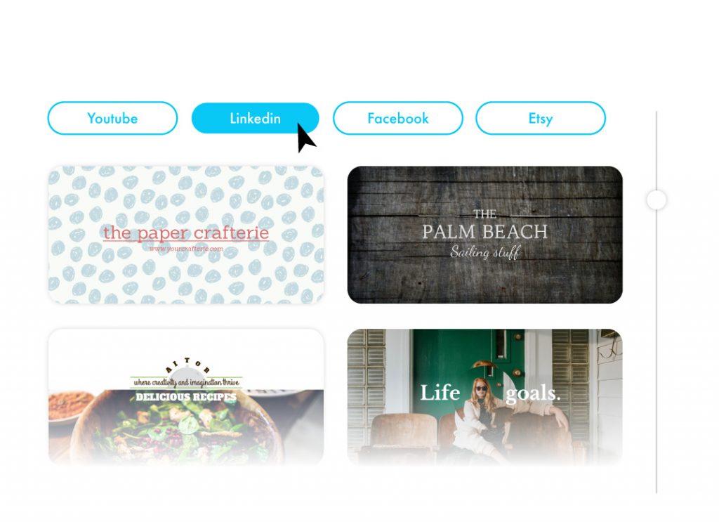 Social Cover templates