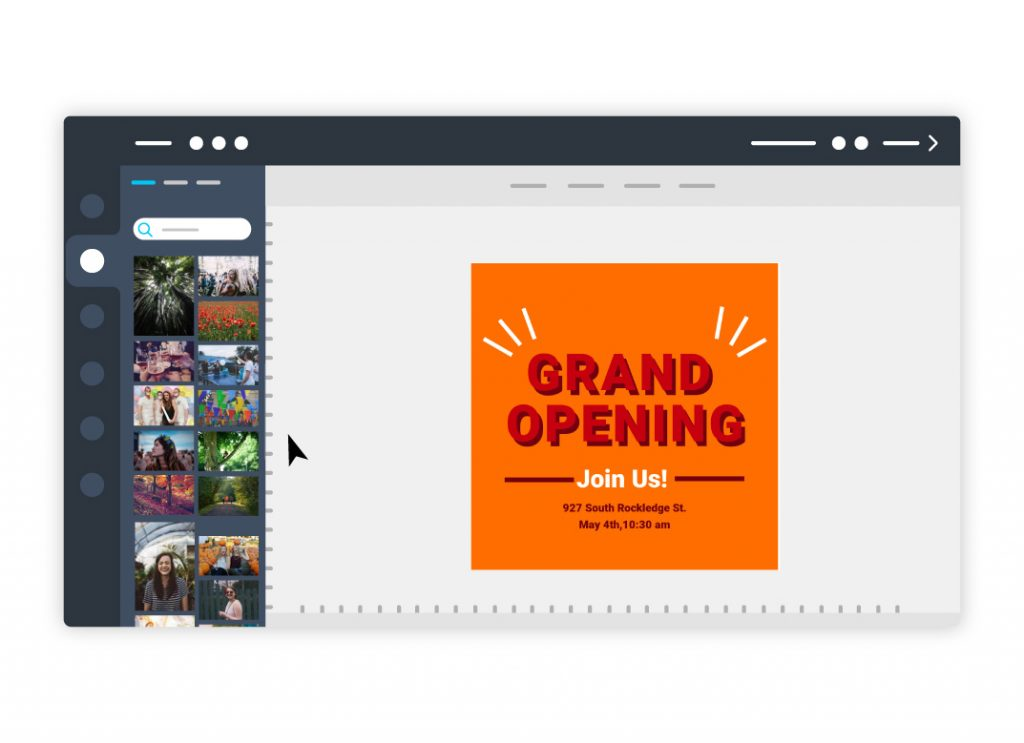 Grand Opening Flyer Check email to access Instagram Flyer YOU CAN NOT edit with your phone