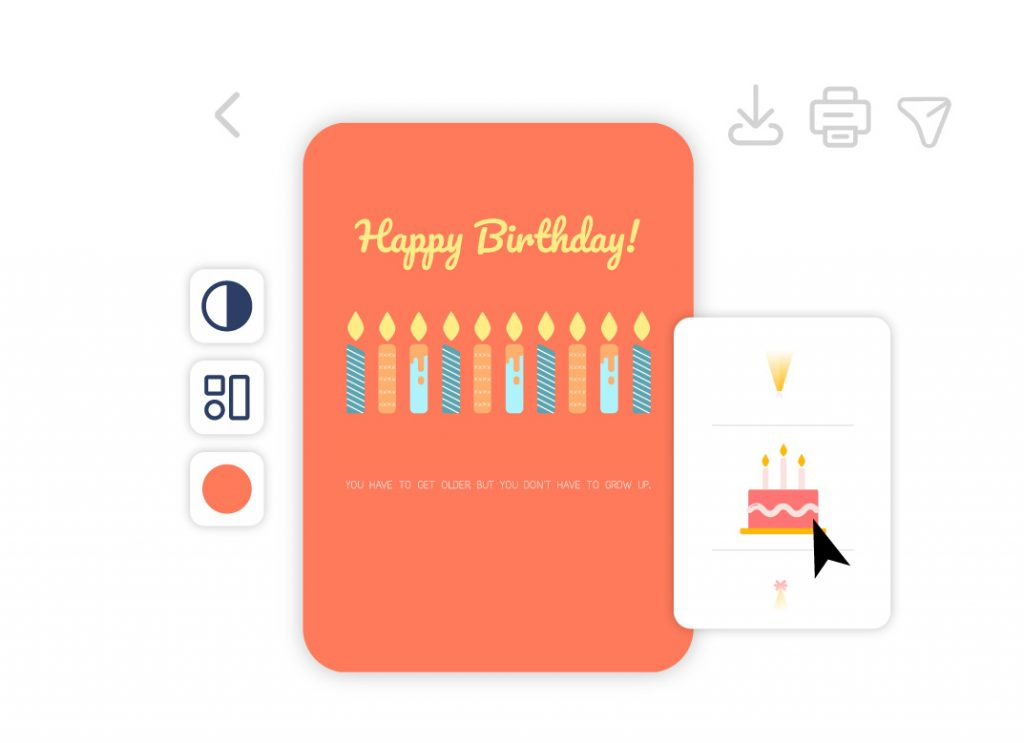 Make Your Own Printable Cards For Free Card Maker By Desygner