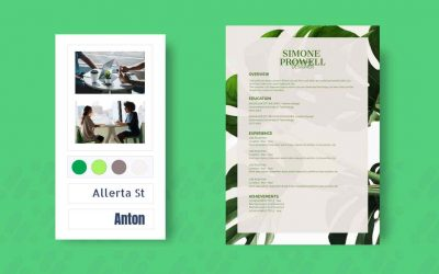 Resume, How to, Green