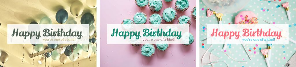 There are so many different birthday card templates for you to choose from. Get choosing!