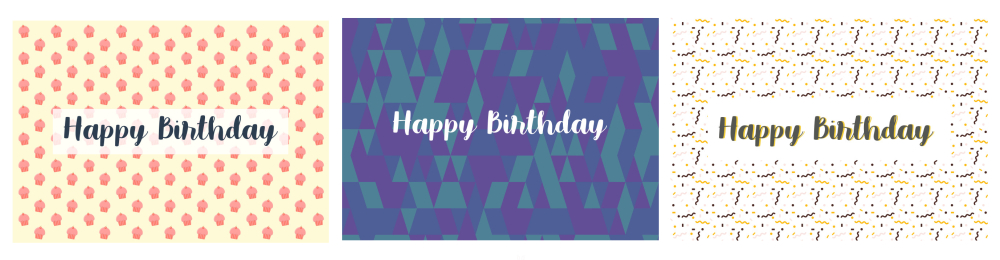 There are so many different birthday card templates for you to choose from. It will be challenging to just choose one!