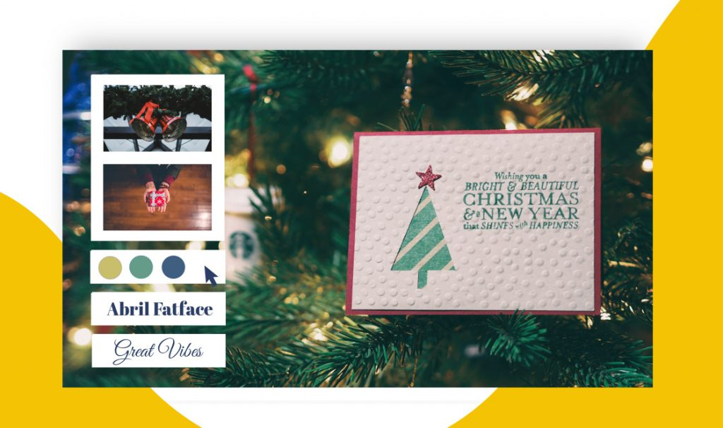 create christmas card
