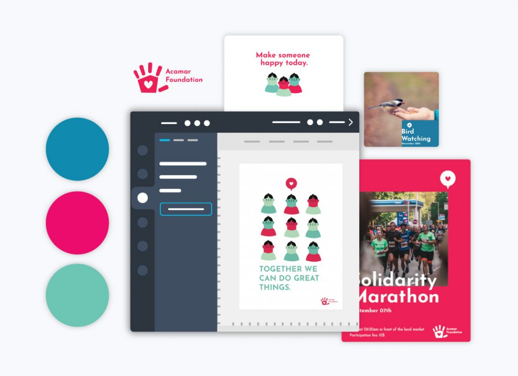 Edit branded content Nonprofit