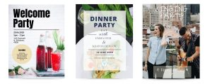 Party Poster Templates