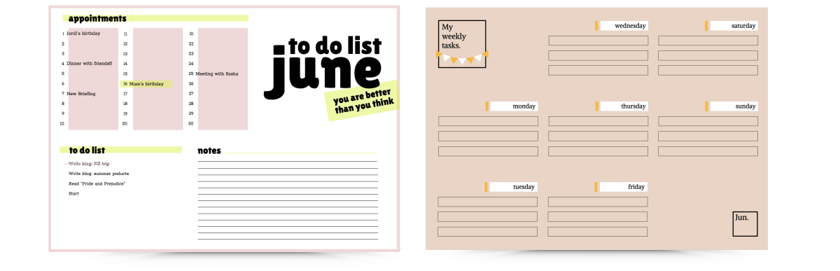 Calendar Content Strategy Template