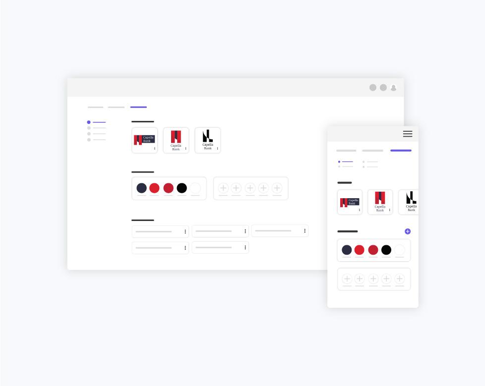Brand Assets Interface