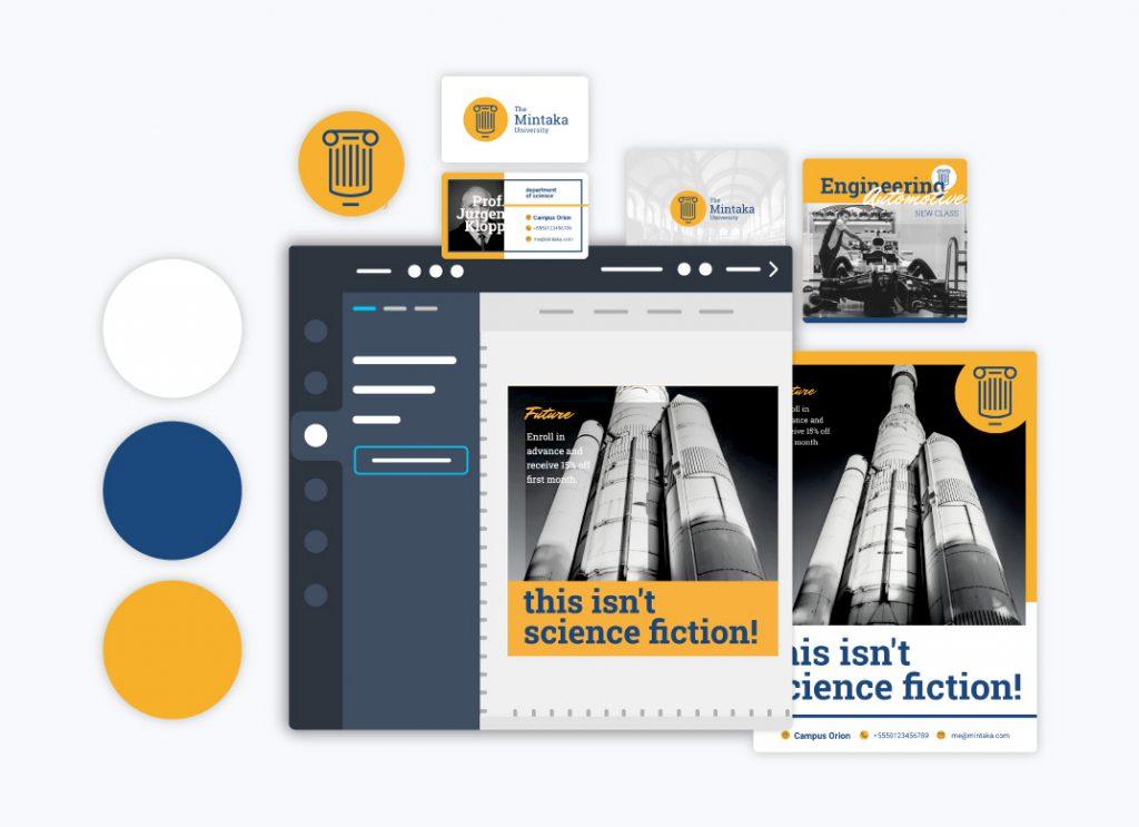 Edit branded content University