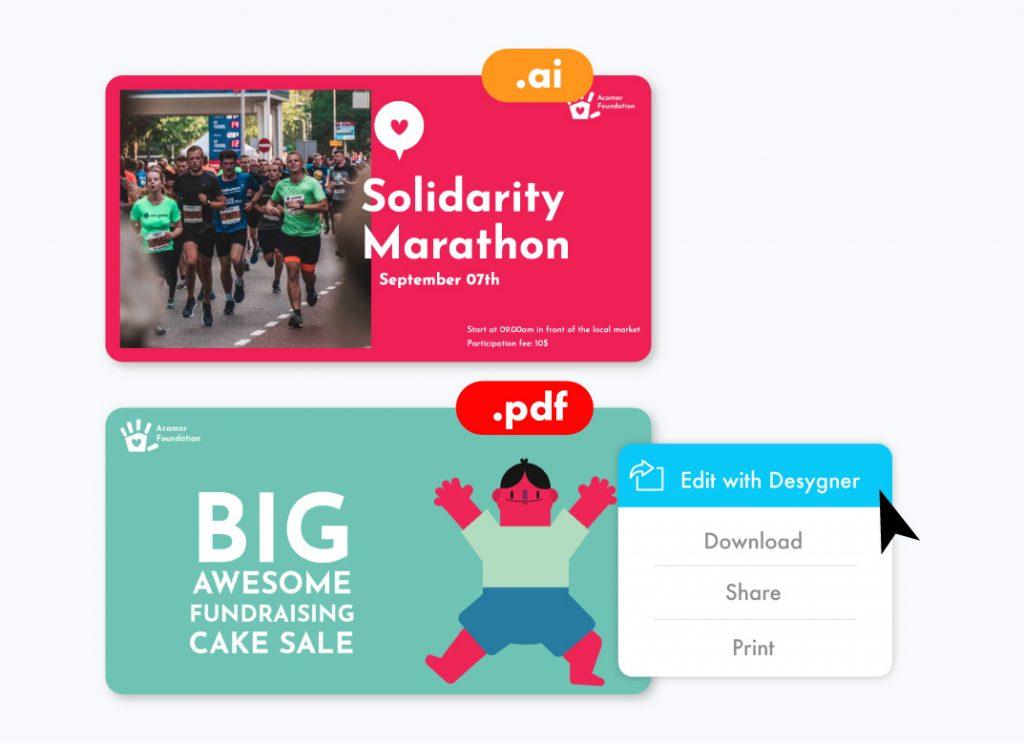 PDF to Template Nonprofit