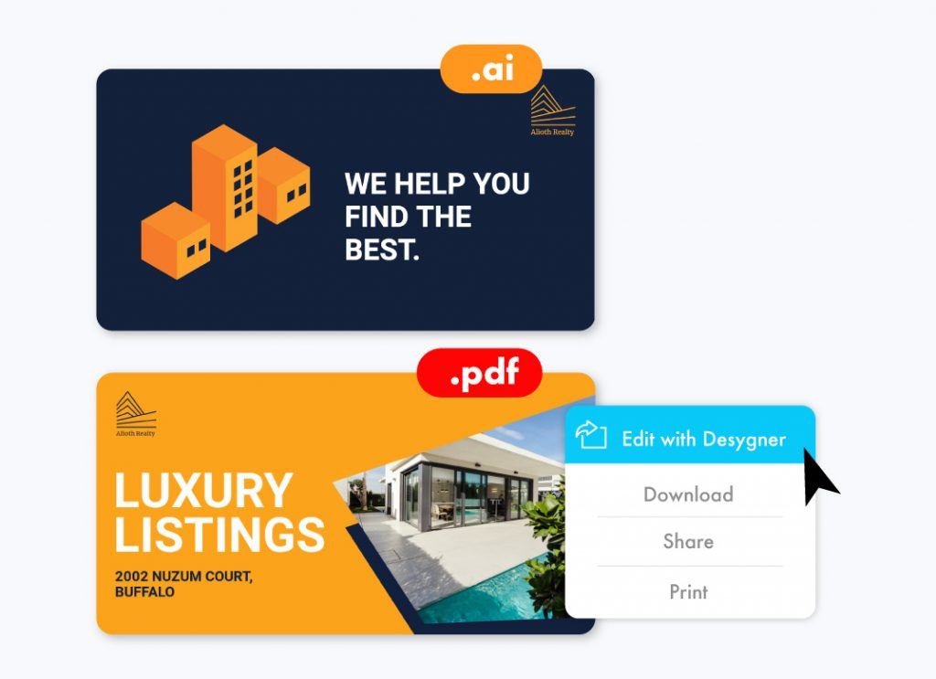 PDF to Template Realty