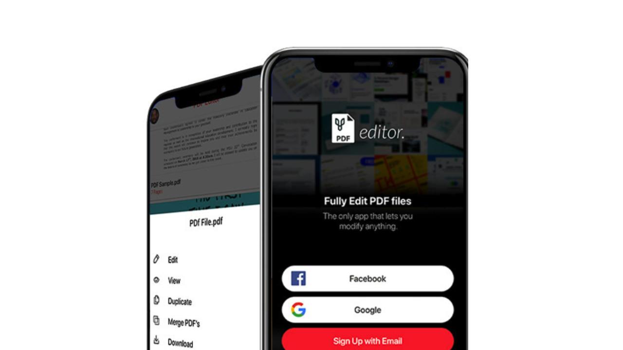 PDF Editor App by Desygner