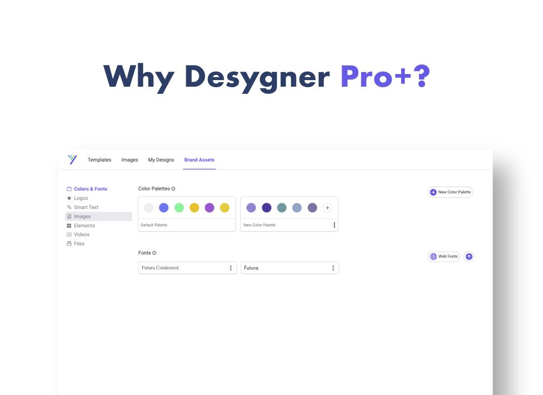 Why Desygner Pro+