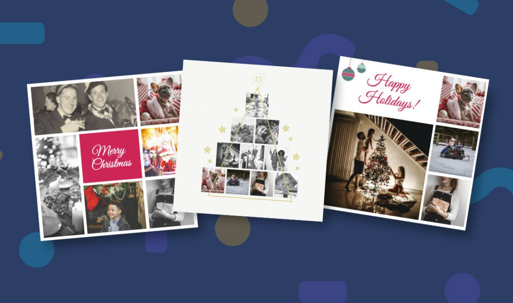 Create Christmas Collages