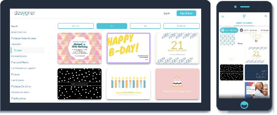 Cómo Hacer Tarjetas De Cumpleaños Online En 5 Pasos Con Desygner
