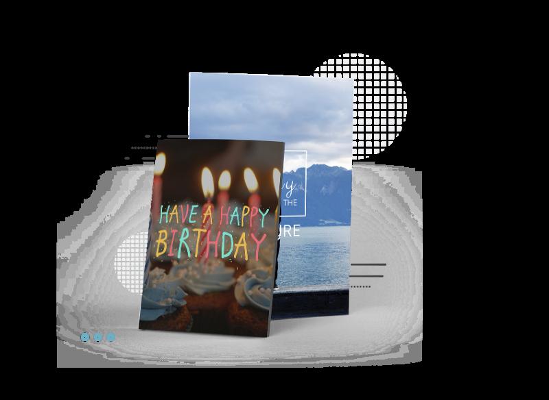 exemplos de cartão de aniversário