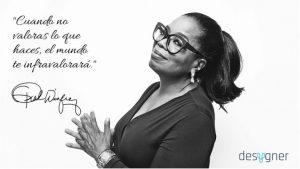Oprah Winfrey desygner quadro de visualização?