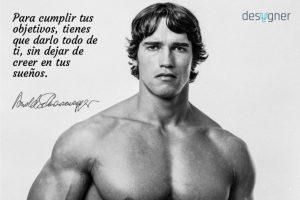 Arnold Schwarzenegger Desygner