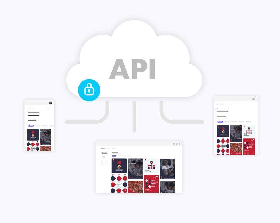 conexão com a Desygner para empresas