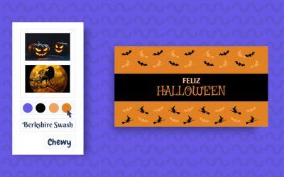 Como fazer convite de Halloween