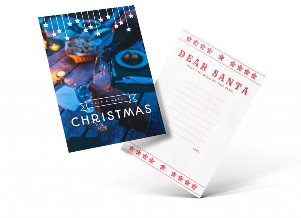 Templates para Cartões de Natal