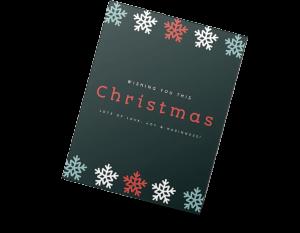 Templates para cartão de Natal