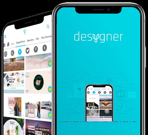 Мобильное приложение Desygner