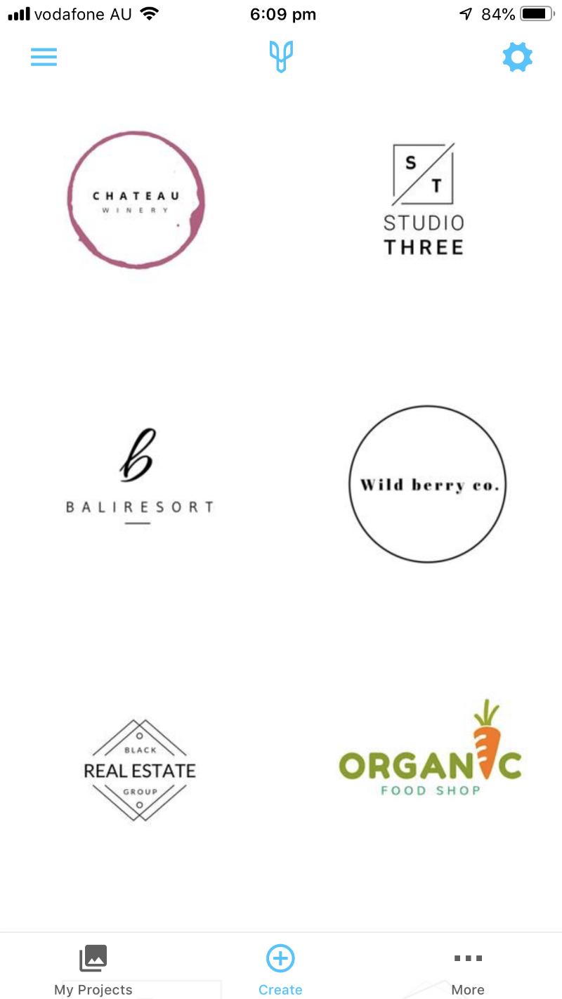 Шаблоны логотипов
