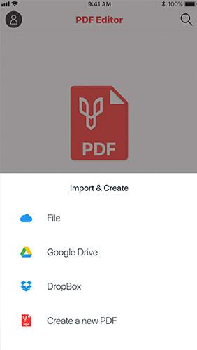 Импорт PDF-файла